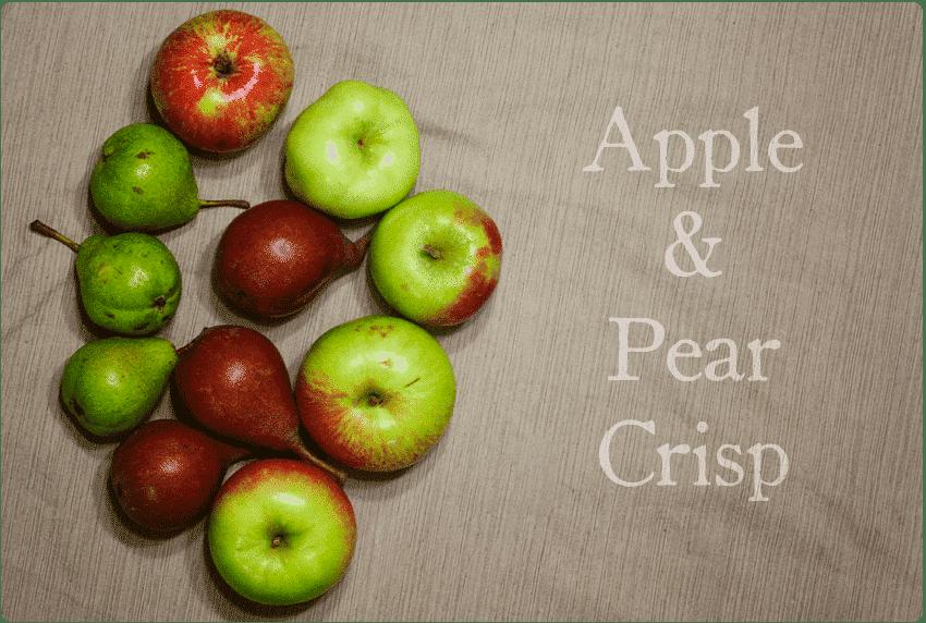 Recipe: Apple Pear Crisp | OneStarryNight.com