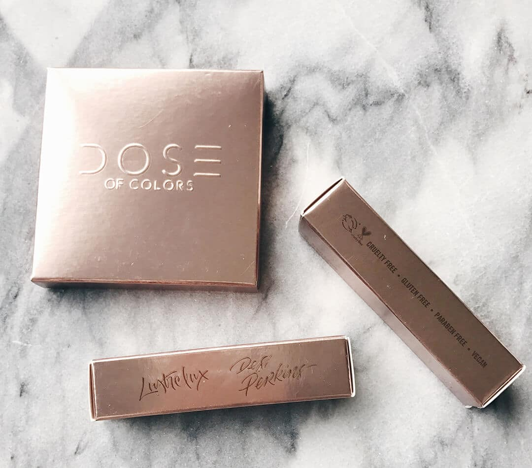 Dose of Colors DESI x KATY Collection Packaging