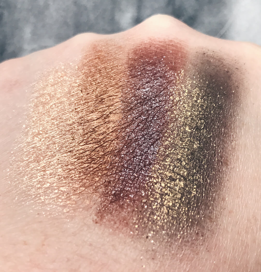 Dose of Colors DESI x KATY Collection The Girls Eyeshadow Palette Swatches