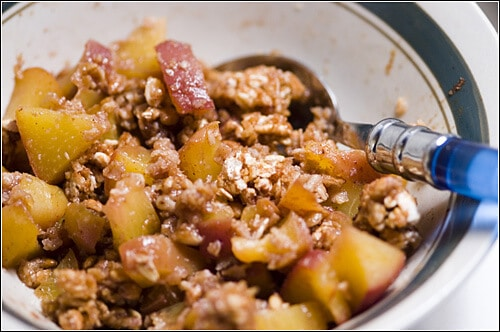 Ghetto Peach Crumble