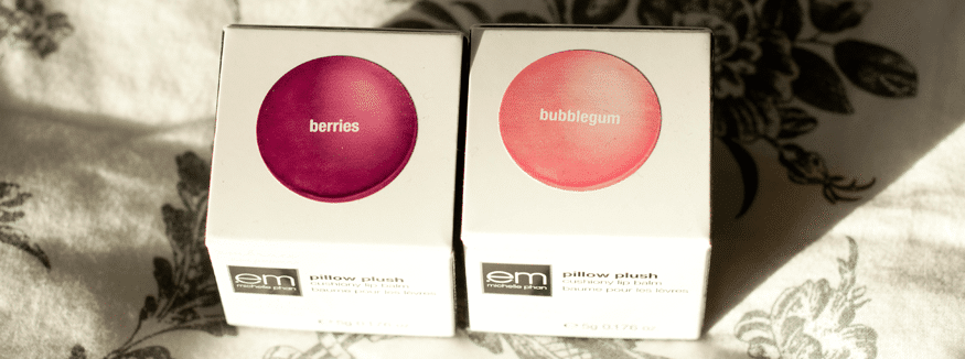 Em Cosmetics Pillow Plush Cushiony Lip Balm Boxes