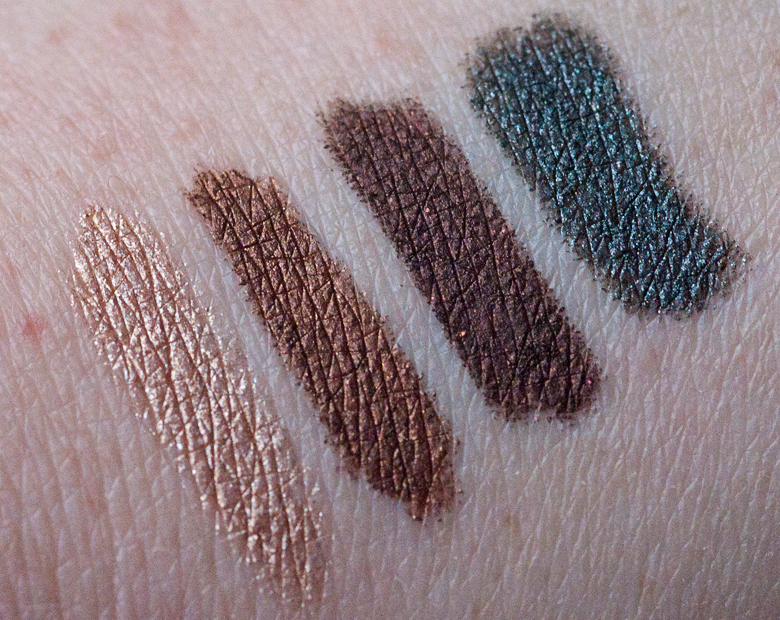 mac-temperature-rising-collection-powerchrome-eyeshadow-penciles-swatches