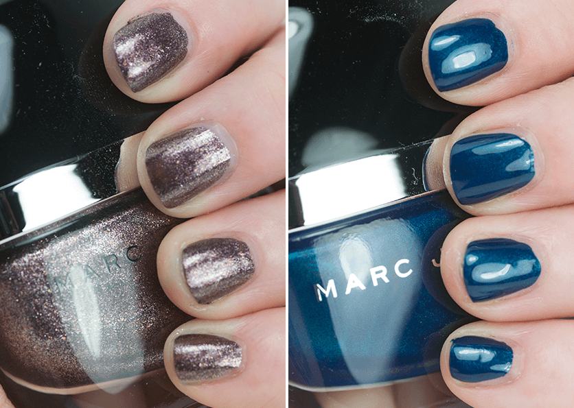 Marc Jacobs Beauty Nail Polish In Petra And Blue Velvet One
