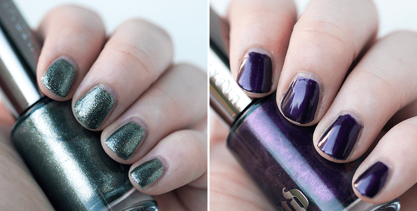 Urban Decay Nail Polish in Vice and Addiction | OneStarryNight.com
